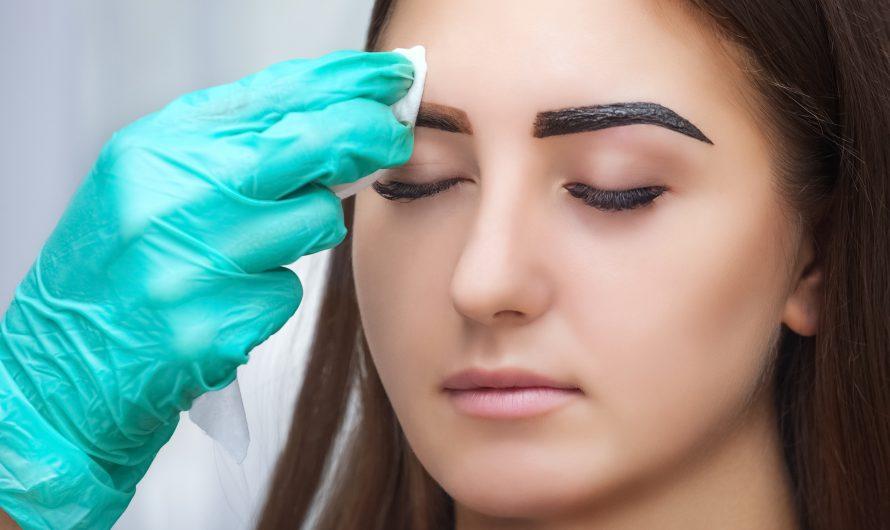 Henna Brows/ Augenbrauen färben mit Henna 25 €